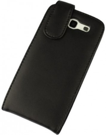 Doormoon Vertical Leather Flip Case Samsung Galaxy S III, Black