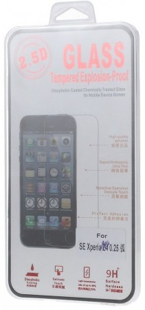 Tempered Glass Screen Protector Film for Sony Xperia™ Z3+, Clear