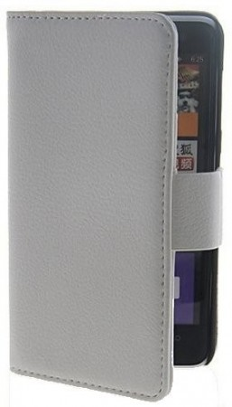 Booklet Flip PU Leather Case for Nokia Lumia 625, White