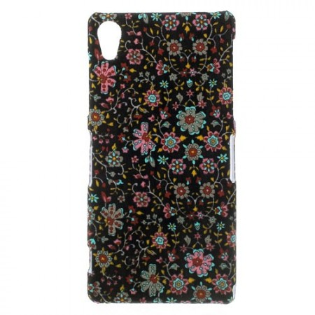 Hard Back Case for Sony Xperia™ Z2, Small Flowers