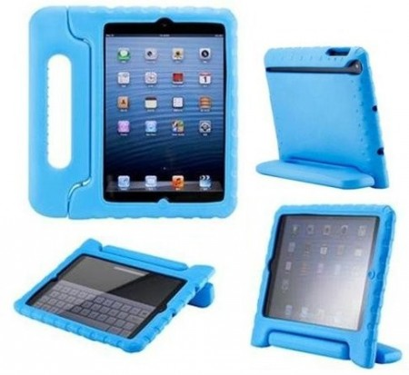 Anti Shock Protection Case for Apple iPad Mini, ¨Carry¨, Blue