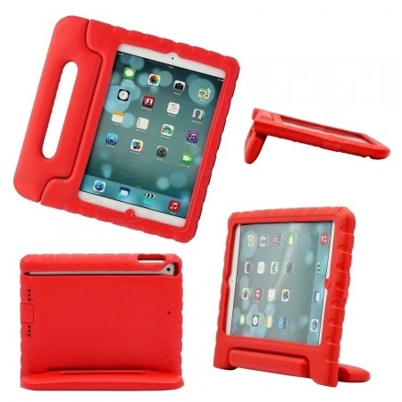 Anti Shock Protection Case for Apple iPad Air,¨Carry¨, Red