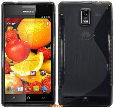 Flexi Shield Skin Huawei Ascend P1 (U9200), *S-line*