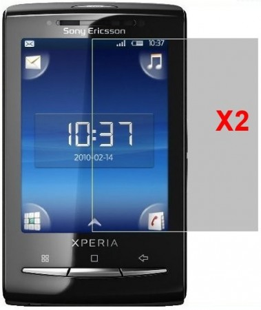 Screen Protector Sony Eric. Xperia™ X10 Mini, 2pack