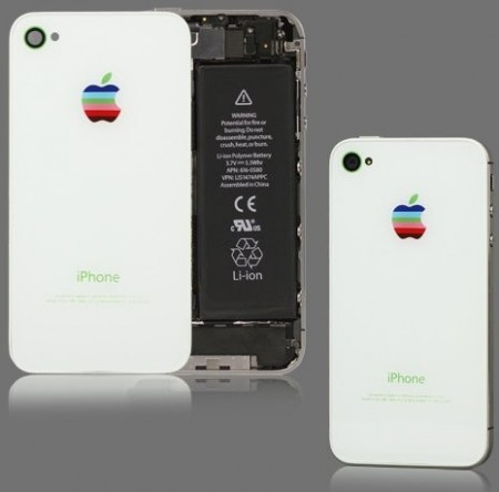Battery Back Cover for Apple iPhone 4S, White