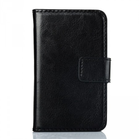 Wallet PU Leather Case for Samsung Galaxy Young 2 (S6310),Black