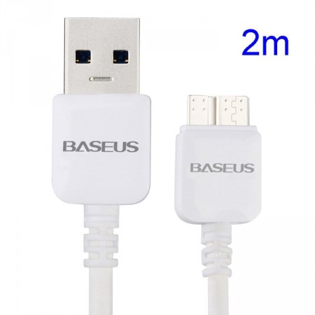Data/Lade/Sync-kabel for Samsung m/microUSB 3.0, 2meter
