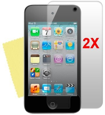 Screen Protector Apple iPod Touch 4, 2pack