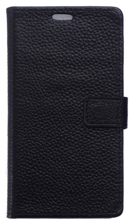 Booklet Leather Case  for LG Stylus 2 (F720), Black