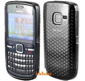 Flexi Shield Skin for Nokia C3-00, *Hexagon*