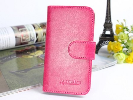 Acrolrs Booklet Leather Flip Case for Sony Xperia™ Z5, Rose