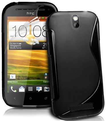 Flexi Shield Skin for HTC One SV (C525E), *S-line*