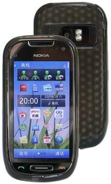 Flexi Shield Skin for Nokia C7-00, *Hexagon*