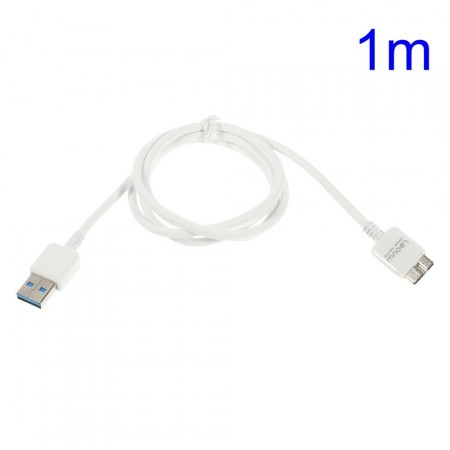Data/Lade/Sync-kabel for Samsung m/microUSB 3.0, 1meter