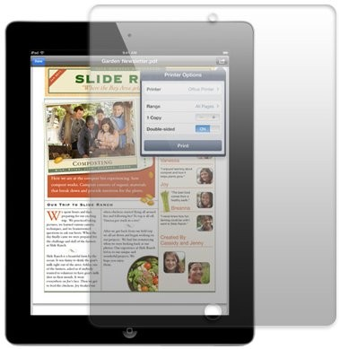 Screen Protector for Apple iPad 2/iPad 3/iPad 4