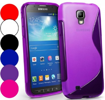 Flexi Shield Skin for Samsung Galaxy S4 Active, *S~line*