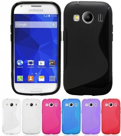 Flexi Shield Skin for Samsung Galaxy Ace 4, (G357) *S~line*