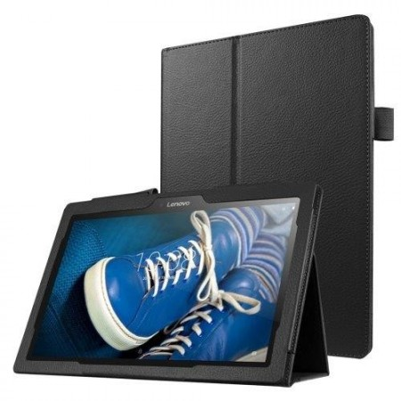 Booklet PU Leather Case for Lenovo Tab 2 (A10-30), Black