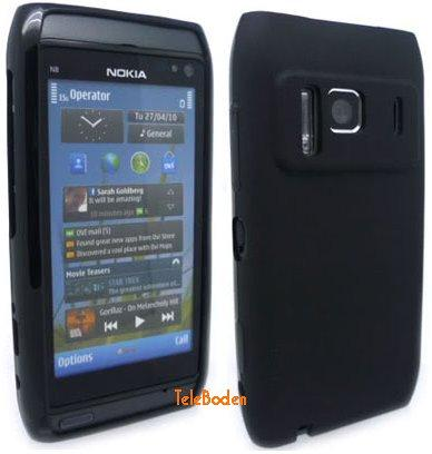 Flexi Shield Skin for Nokia N8-00, *Frosted*