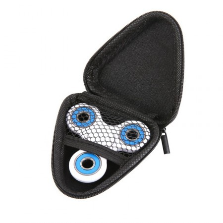 Triangle box case for Fidget Spinner, Black