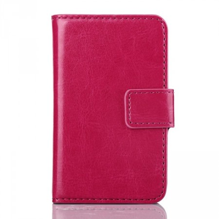 Wallet PU Leather Case for Samsung Galaxy Young 2 (S6310),Rose