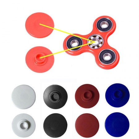 Middle bearing caps for Fidget Spinner in colors <1>