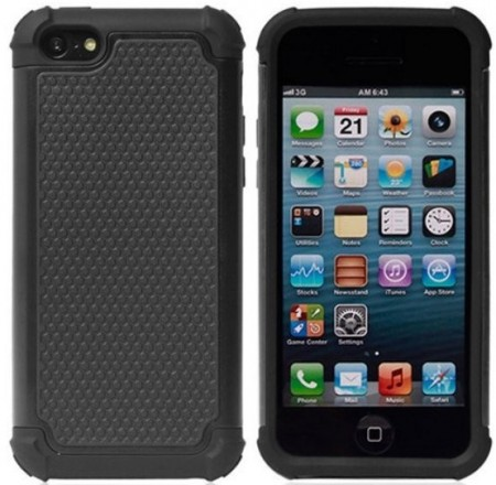Defender TPU/HBC case for Apple iPhone 5c, Black