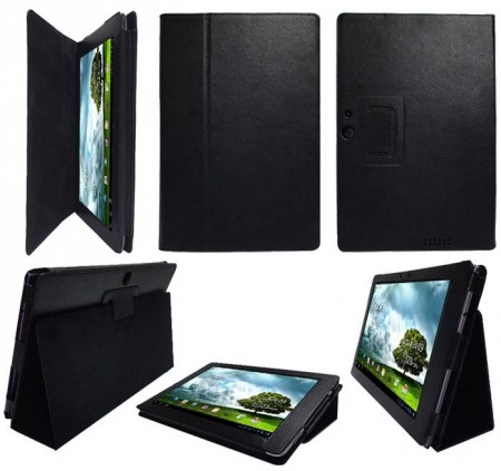 Booklet PU Leather Case Asus Transformer Pad Infinity TF700,Black