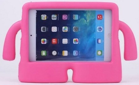 Anti Shock Protection Case, Apple iPad Mini 1/2/3/4, *iBuddy*, Rose