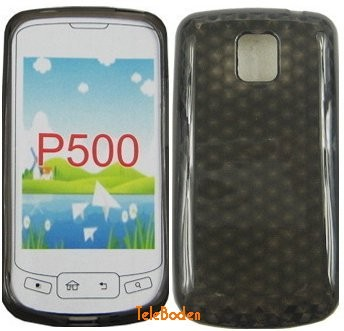 Flexi Shield Skin LG P500 (Optimus One), *Hexagon*