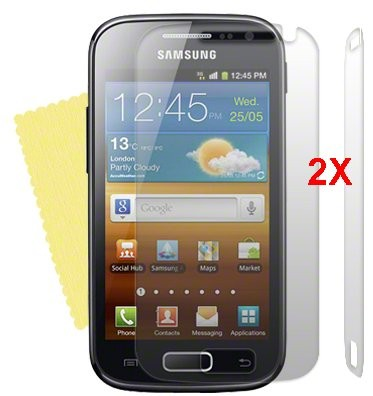 Screen Protector Samsung Galaxy Ace II, 2pack