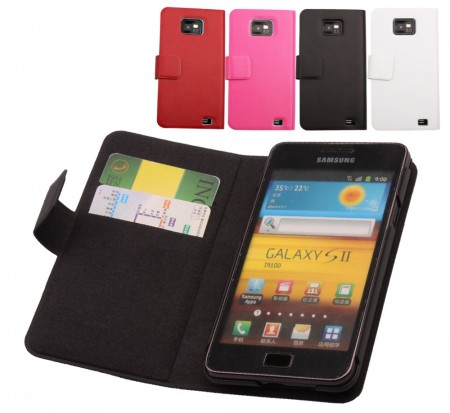 Doormoon Booklet Leather Flip Case Samsung Galaxy S II/S II Plus