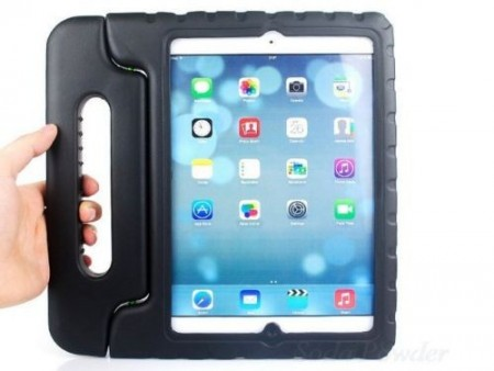 Anti Shock Protection Case for Apple iPad Air 2,¨Carry¨, Black