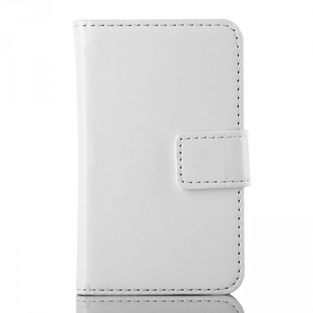 Wallet PU Leather Case for Samsung Galaxy Young 2 (S6310),White