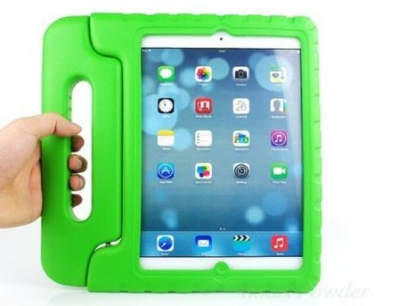 Anti Shock Protection Case for Apple iPad Air 2,¨Carry¨, Green