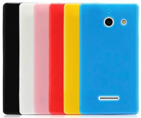 Flexi Shield Skin Huawei Ascend W1, *Candy Glossy*