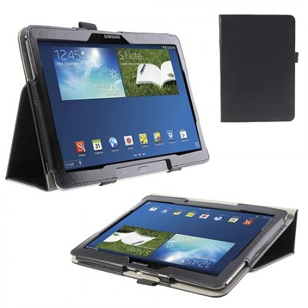 Booklet PU Leather Case Samsung Galaxy Note 10.1 (2014 edition),Black