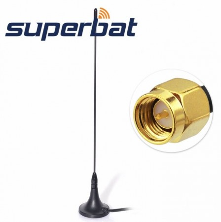 SUPERBAT magnetfot-antenne for bil