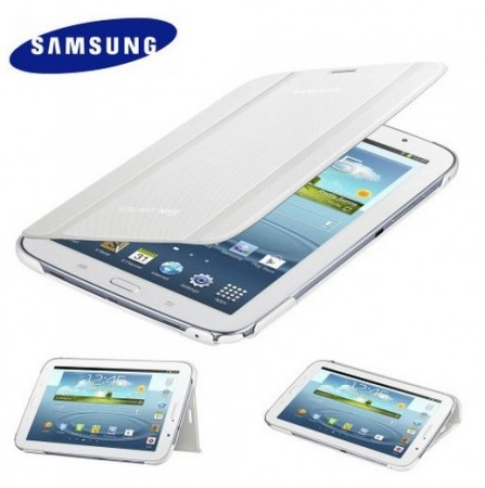 Orig. Book Flip Cover for Samsung Galaxy Note 8.0, White