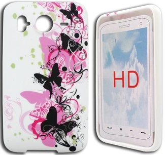 Flexi Shield Skin Case for HTC Desire HD, *Design*