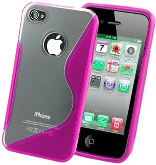 Flexi Shield Skin for Apple iPhone 4/4S, *S-line I*
